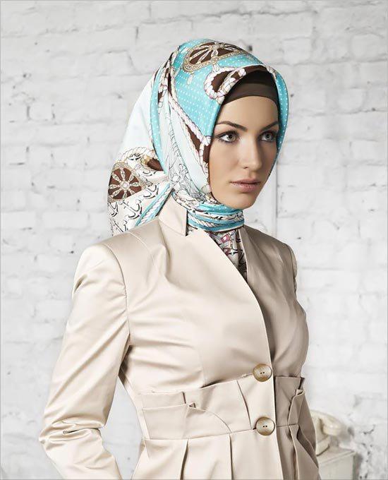 مدل مانتو روسری زنانه