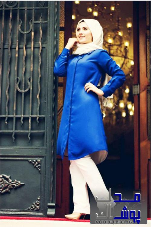 مدل مانتو تابستانی دخترانه