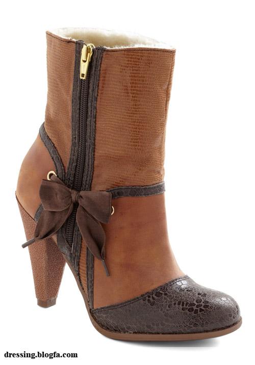 مدل کفش و بوت دخترانه و زنانه_۱